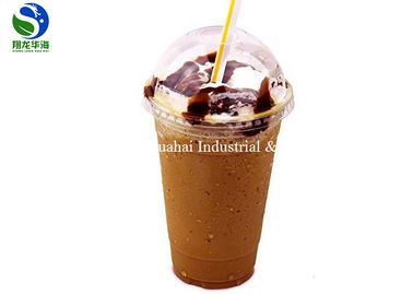 Degradable Design Disposable Drinking Cups PLA Plastic Juice Tumblers