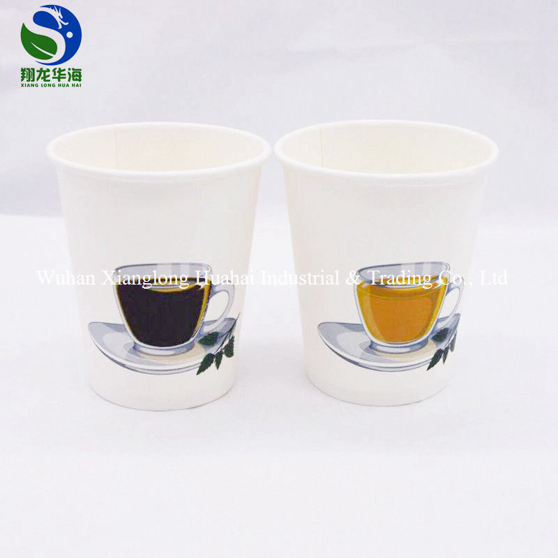 Magic Color Changing Paper Cups Hot Beverage Use Due To Temperature Change
