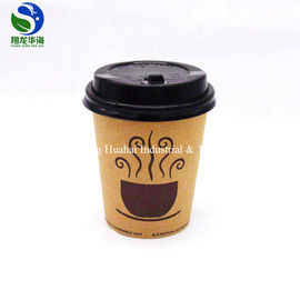 China Heat Resistant Kraft Eco Friendly Paper Cups 16Oz Portable Biodegradable factory