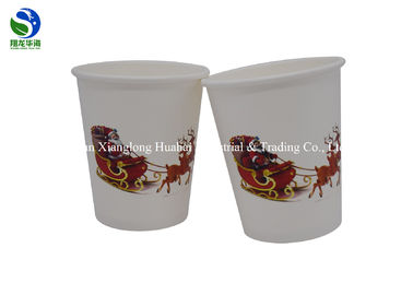 China Distinctive Color Changing Paper Cups 10oz Biodegradable Single Wall factory
