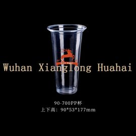 420ml Clear PP Plastic Cup Matched With Automatic Sealing And Filling Machines